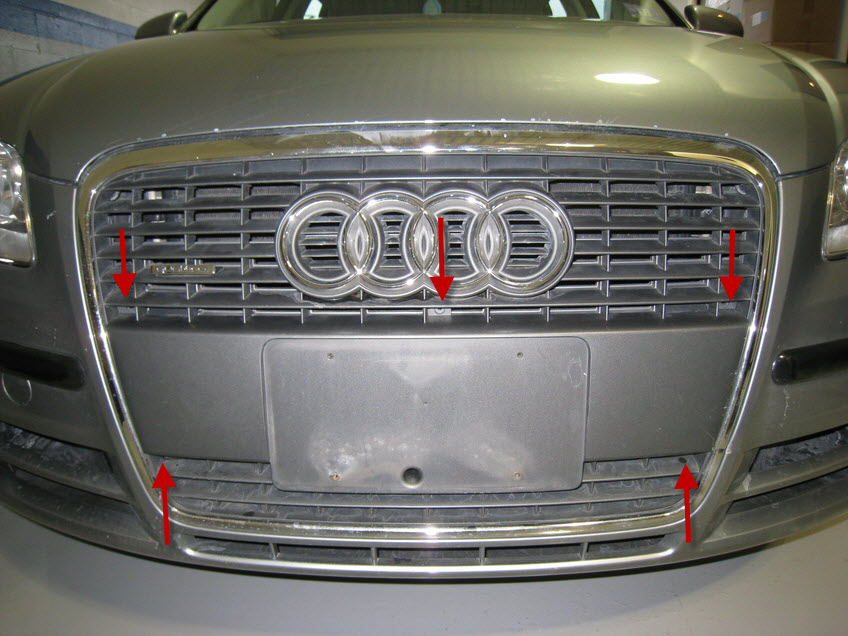Audi A4 B7 Front Plate Delete - Europa Parts Blog