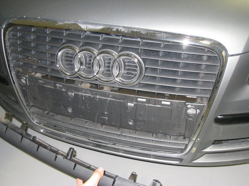 Audi A4 B7 Front Plate Delete 04 Europa Parts Blog