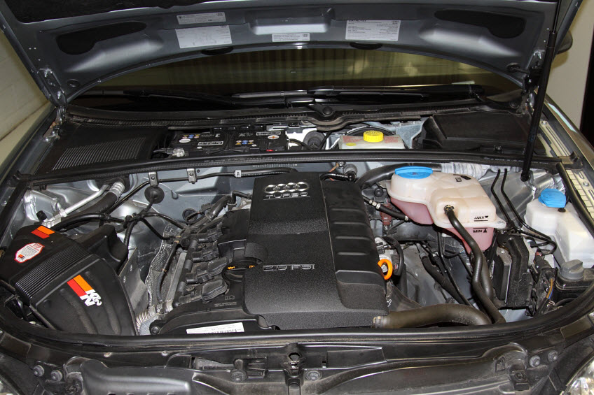 Audi A4 Engine Cover Kit Install Europa Parts Blog